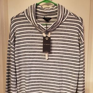 Lucky Brand Funnel-Neck Sweater, Size XS